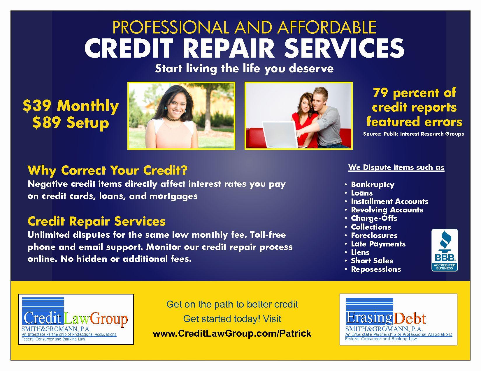 Credit repair flyer template new credit repair flyer