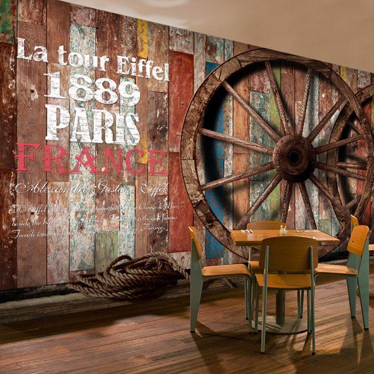 Image Result For Restaurant Wallpaper Design Ide Mural