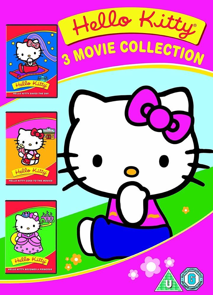 Details about hello kitty three movie collection 2011