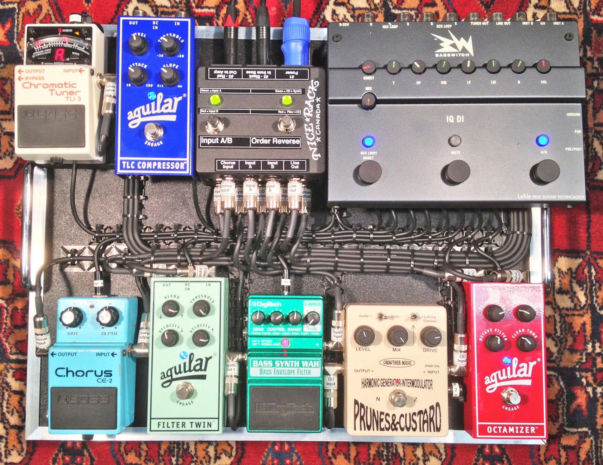 MIDI Controlled Pedalboard for Devon Portielje Half Moon Run Built by Nice Rack Canada Customer System Builds Pinterest
