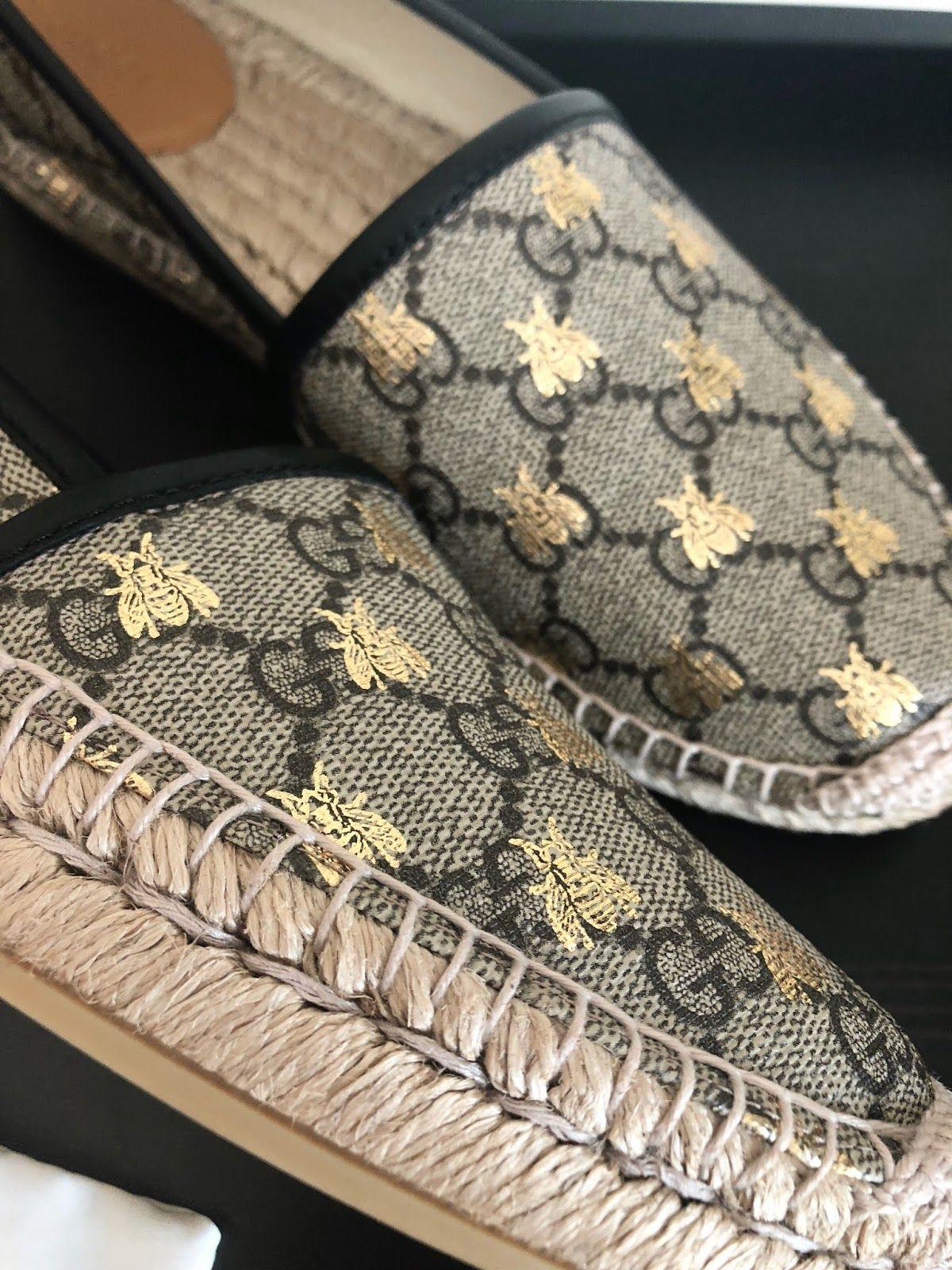 727f0b1f Gucci Bee Espadrilles | Espadriles