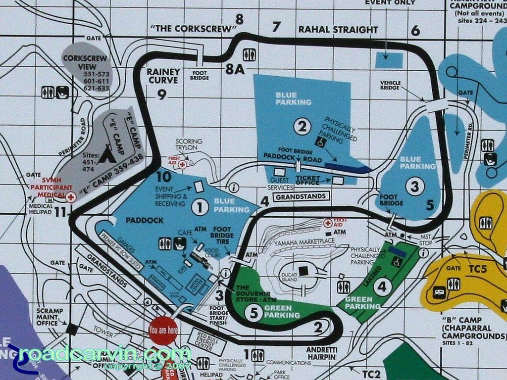 Mazda Raceway Laguna Seca   My \