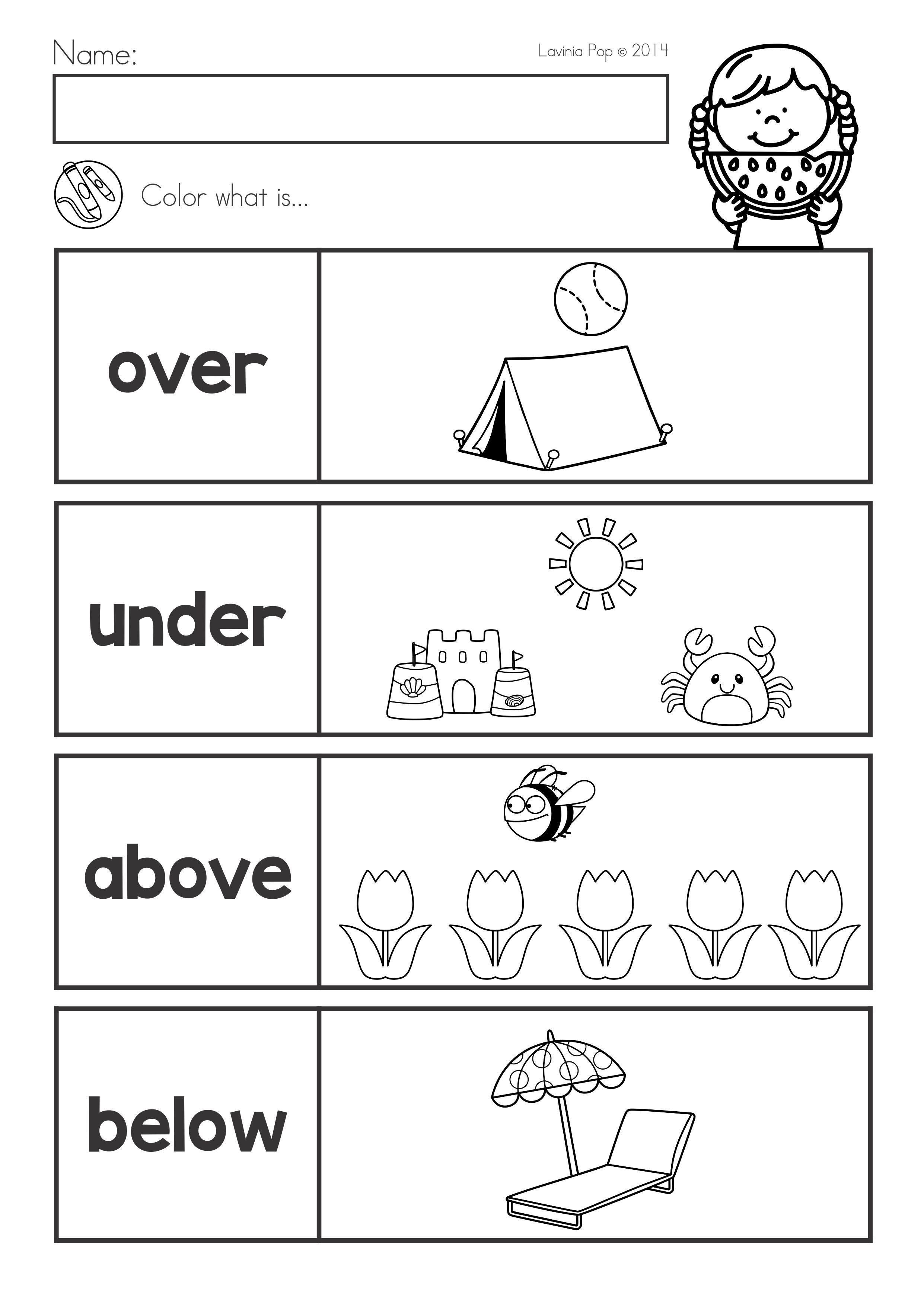 Summer Review Kindergarten Math Amp Literacy Worksheets