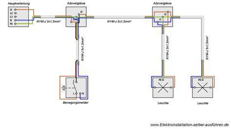 wechselschaltung 2 lampen 2 schalter