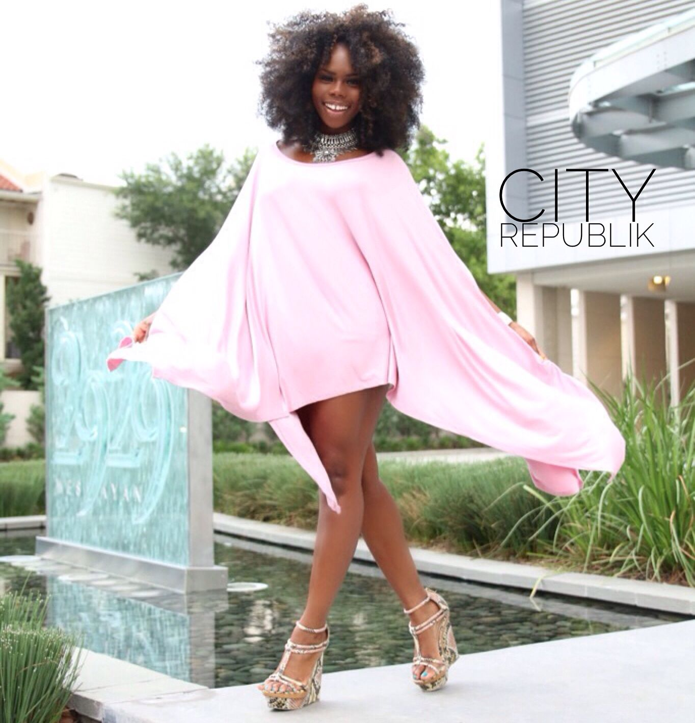 Simply draped top available now at www.CityRepublik.com   Shop hair, top, and…