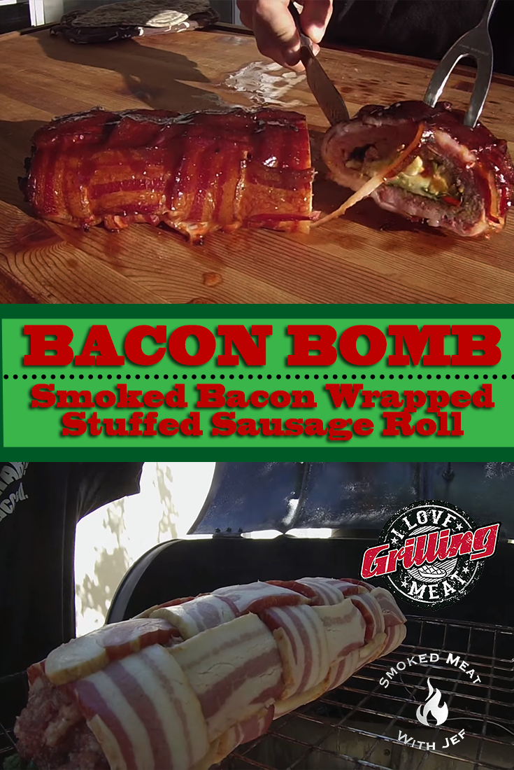 bacon bomb smoked bacon wrapped stuffed sausage roll bacon bombs sausage rolls and bacon wrapped. Black Bedroom Furniture Sets. Home Design Ideas