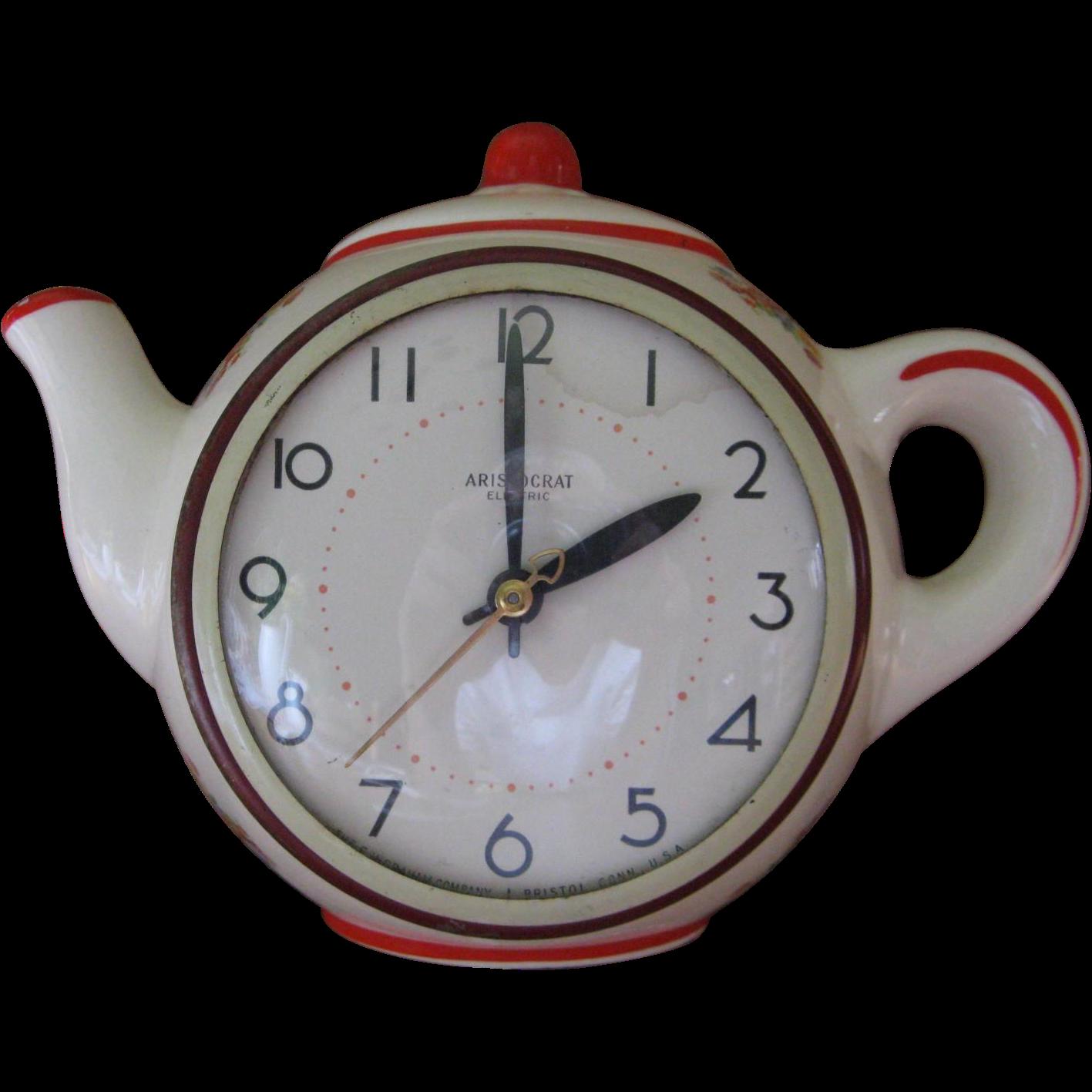 Aristocrat Electric The E Ingraham Company Kitchen Wall Clock