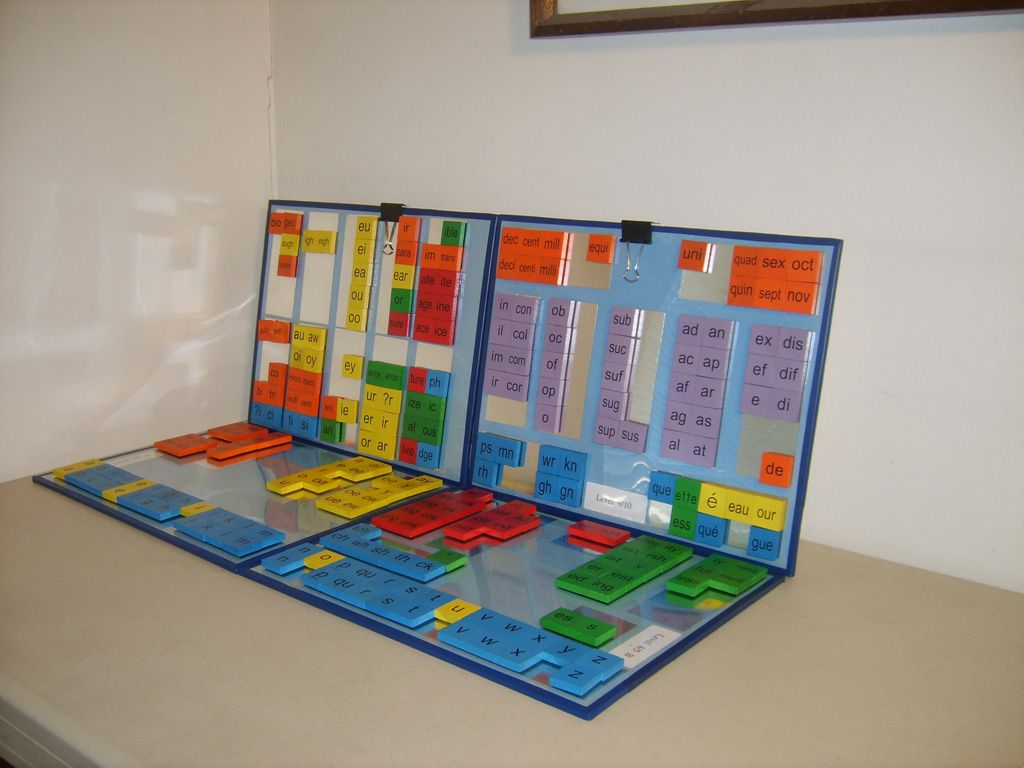 Dyslexic Learning Boards For Susan Barton Orton Gillingham