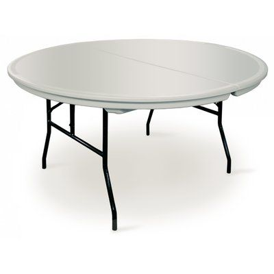 Terrific Mccourt Manufacturing Commercialite Round Folding Table Set Download Free Architecture Designs Grimeyleaguecom