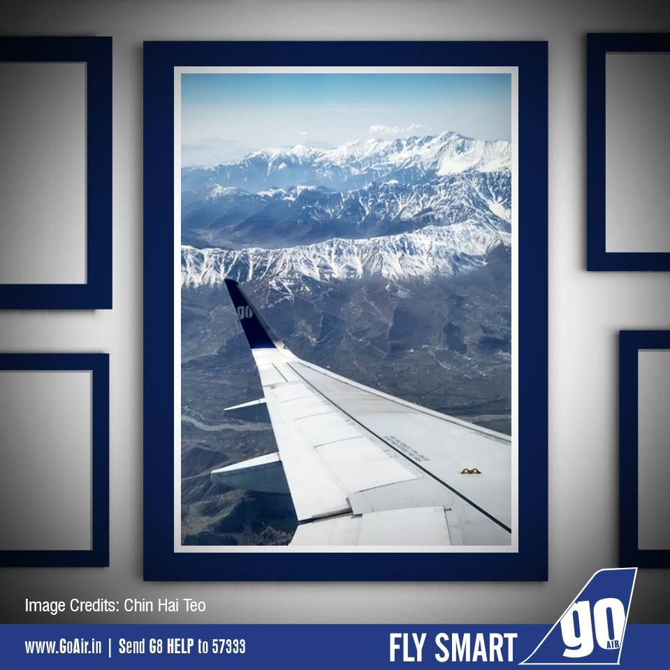 We would like to thank Mr. Chin Hai Teo for sharing this spectacular picture . We hope to fly you again on your next trip to India. #GoFlyer