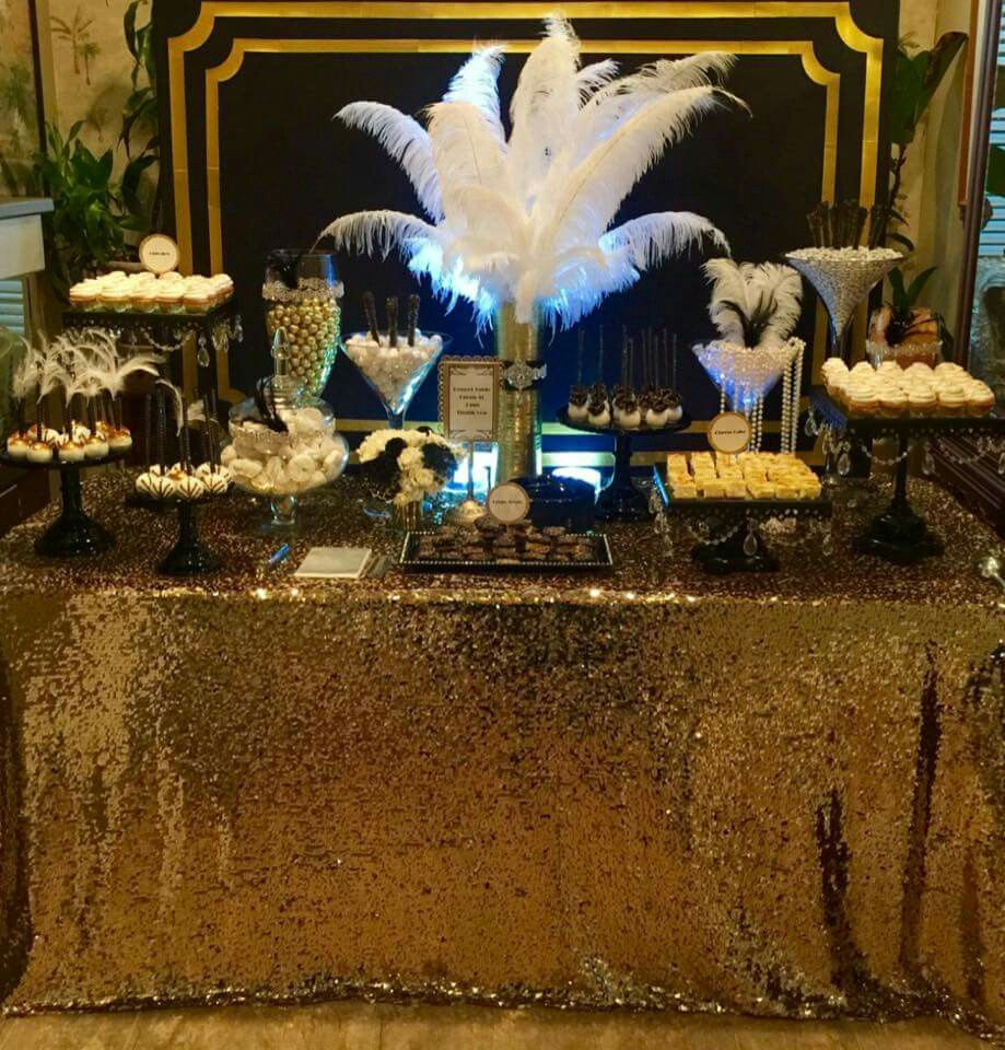 Black gold party party ideas pinterest gold - Geburtstagsideen 60 ...