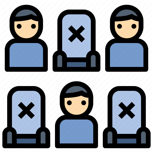 Audience Community Distancing Public Social Social Distancing Space Icon Download On Iconfinder Space Icons Icon Vector Character