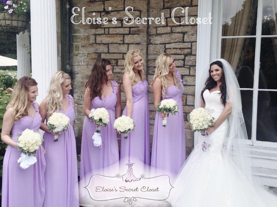 ELODIE Lilac Bridesmaids - www.eloises-secret-closet.co.uk ...