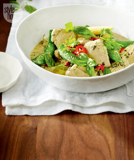 Green Kitchen Recipes: Recipe: Thai Green Curry Chicken