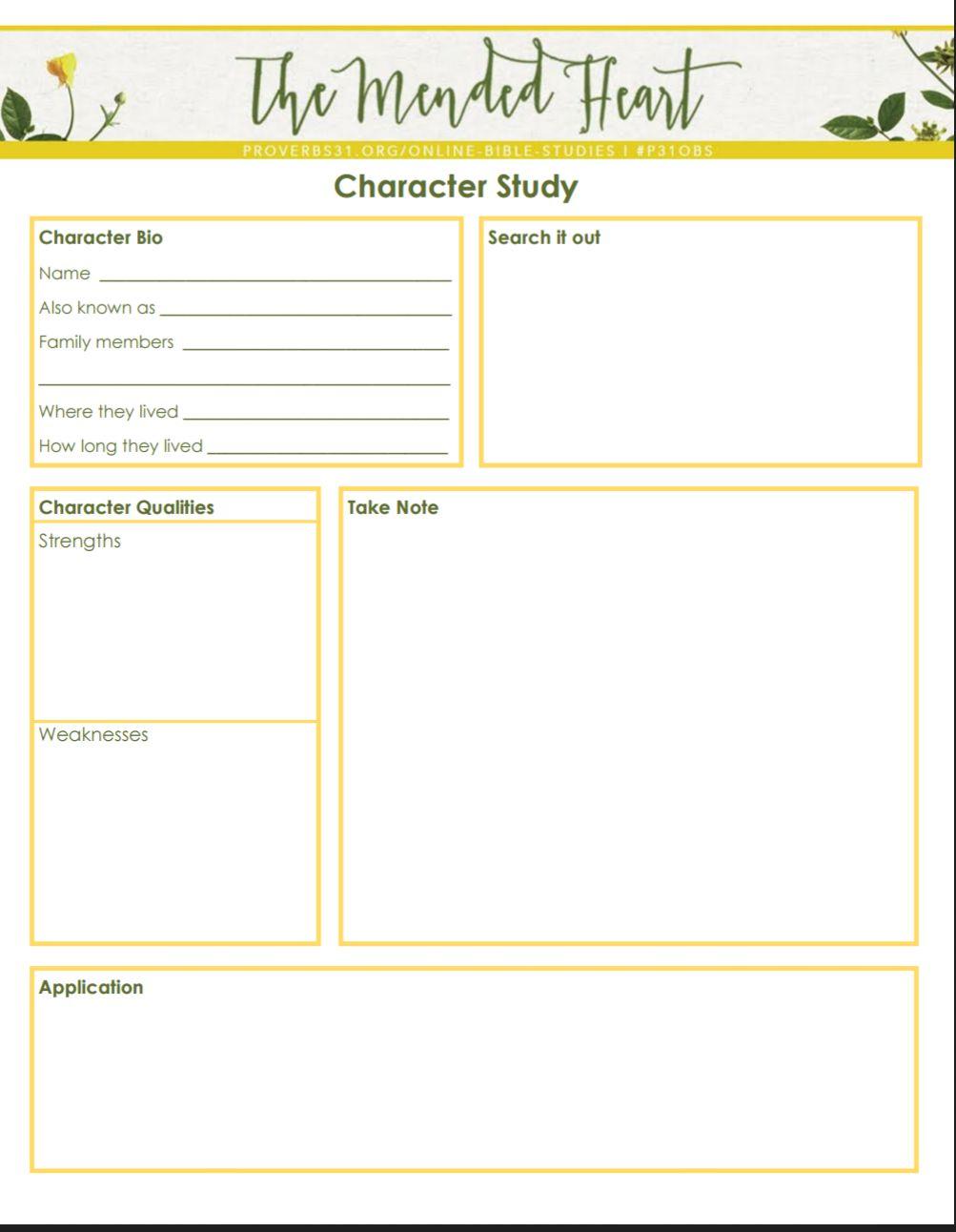 Error 404 Bible Character Study Bible Study Worksheet Bible Study Methods