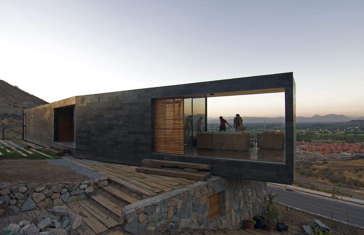 Casa binimelis arq pinterest arquitectos for Arquitectos chilenos