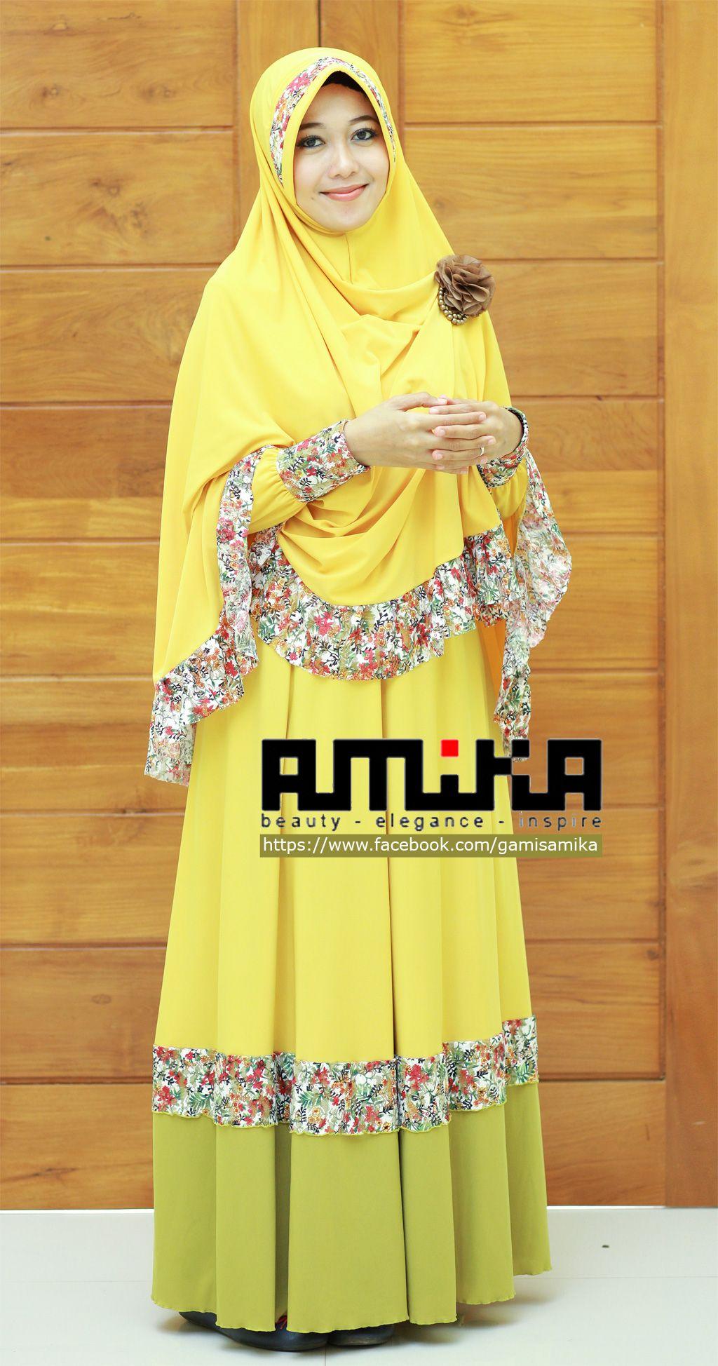 Seri gamis baru dari gamisamika yang segar dan penuh warna kamila series