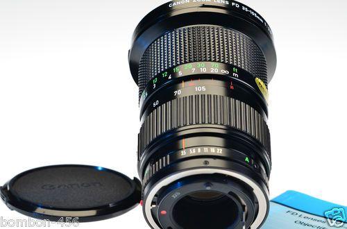 Canon Zoom Lens Fd 35 105mm F3 5 Canon Zoom Lens Lens Dslr