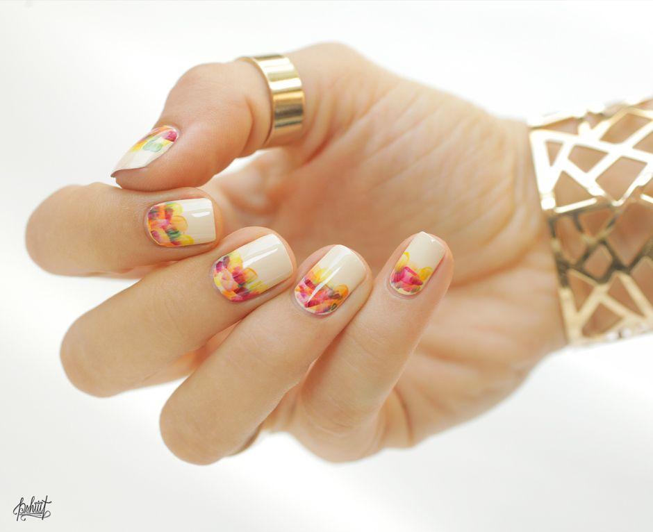 35 Gorgeous Fall Nail Art Ideas | Autumn nails, Nail nail and Manicure