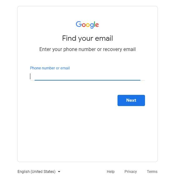 How do I Reset gmail email Password Account recovery