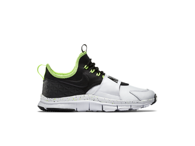 Nike Free Ace Leather Sneaker Black Mens