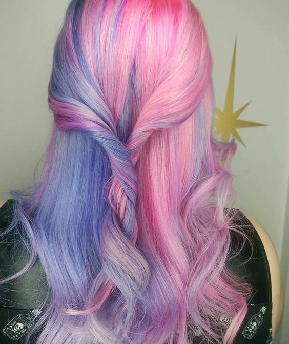 20 Trending Shades of Unicorn Hair   How To Look Stunning and Magical Gallery
