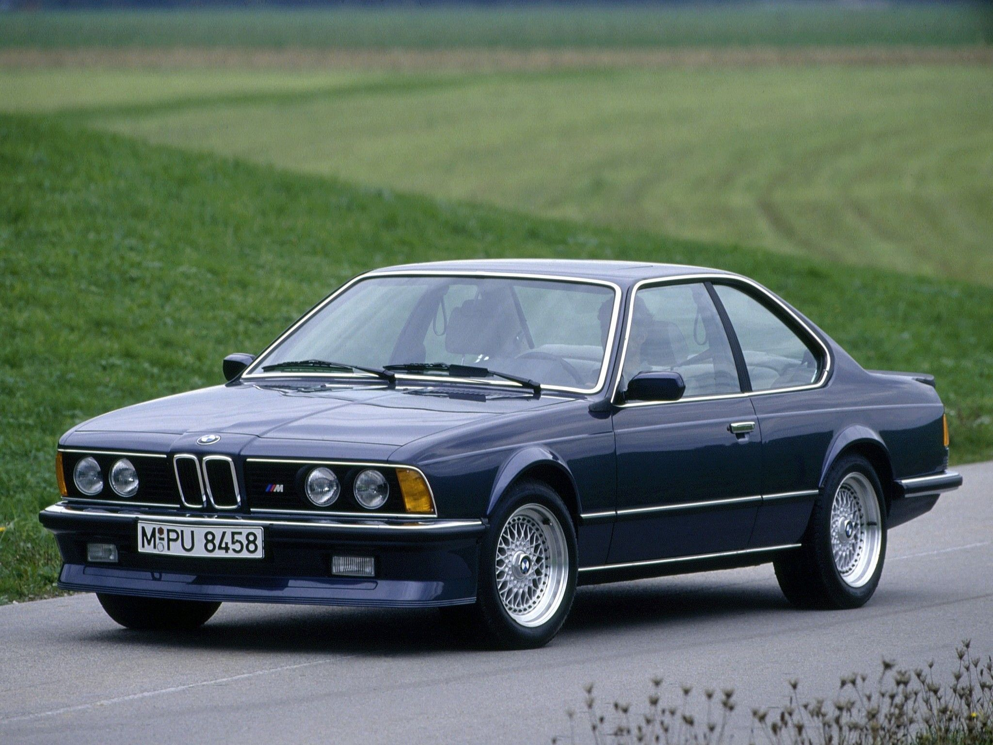 1984–88 BMW M635 CSi E24 we have one in black a great car