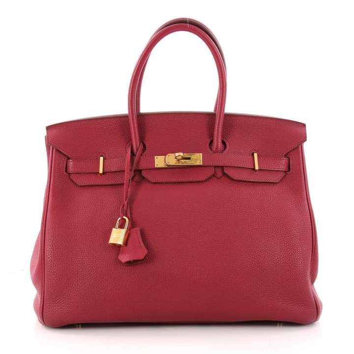 Hermes Leather Handbag