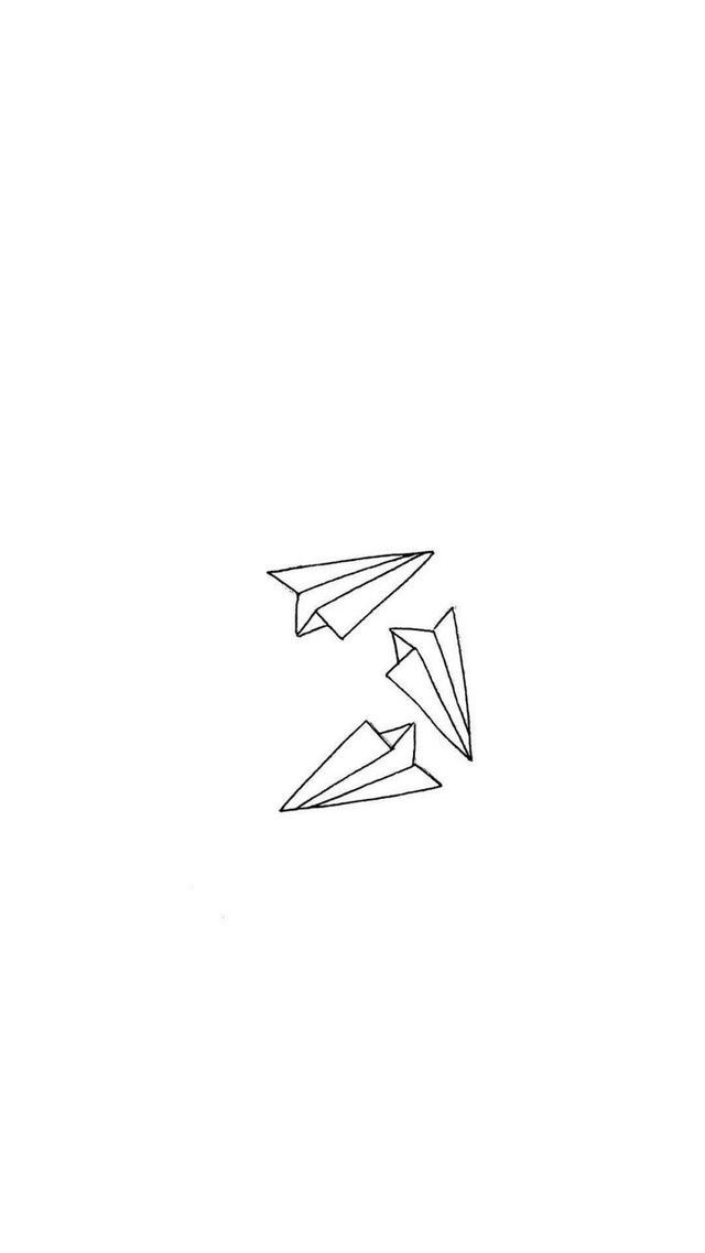 paper planes in love letter Beautiful