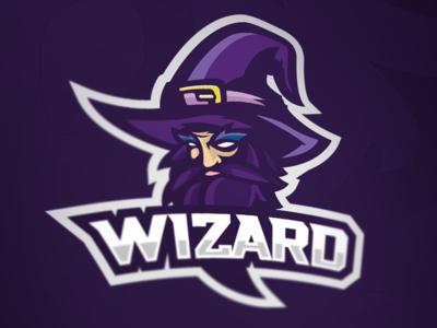 Wizard Esports Mascot | Logo / Fonts / Calligraphy | Wizards
