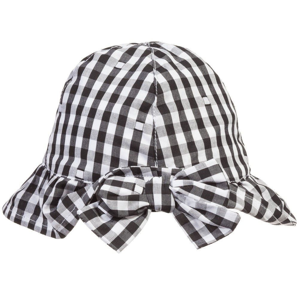 Absorba Baby Girls Gingham  So Smart  Cotton Sun Hat  c30893636a9e
