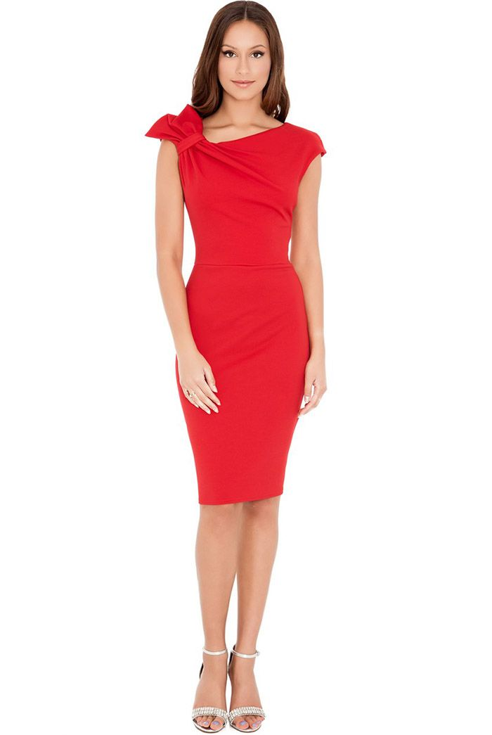 Beige Office dress for women Secretary A-Line Black dress ladies Casual wear without sleeves knee dress magenta Autumn sundress office style