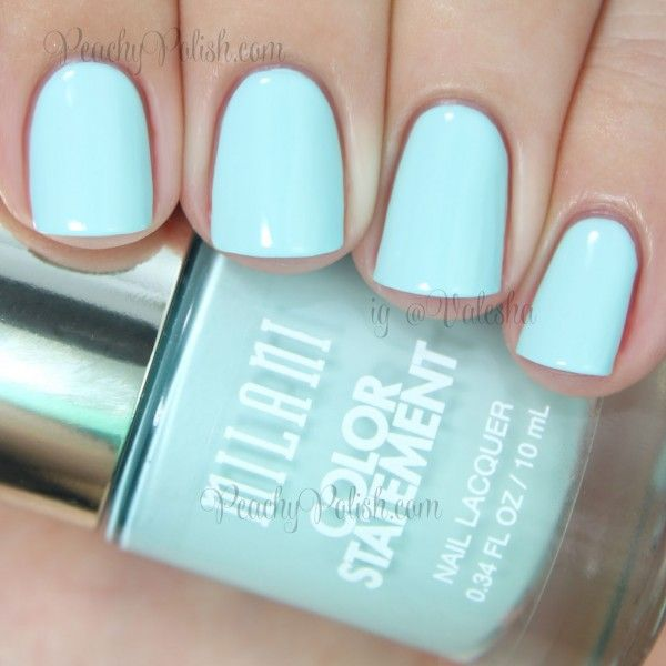 Milani: Color Statement Nail Lacquer Collection Swatches and Review ...