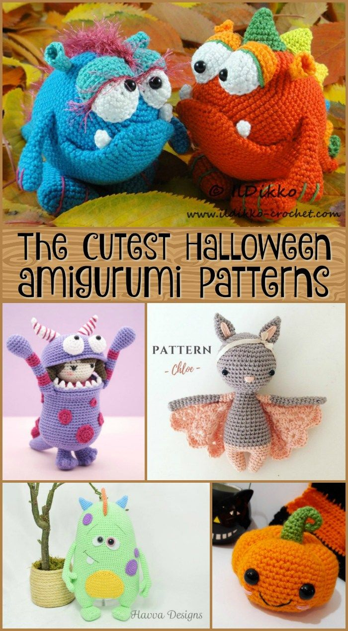 Adorable Halloween Amigurumi