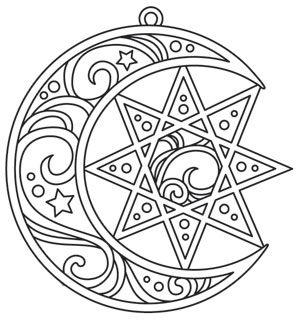 Captured Star design (UTH14368) from UrbanThreads.com