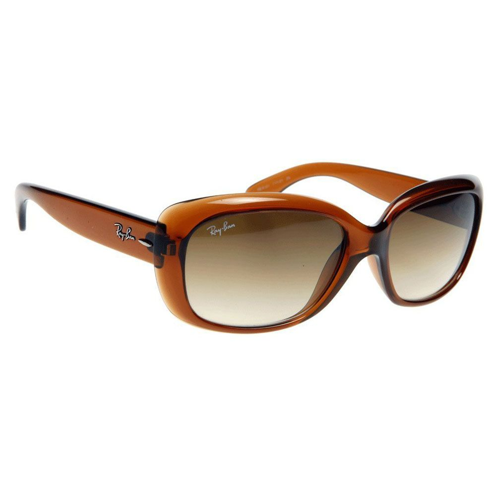 Ray Ban Jackie Ohh Brown Simple Clean Versatile This Stylish Pair Of Sunglasses From Ray Ban Has A Retro Sunglasses Designer Sunglasses Sunglass Lenses