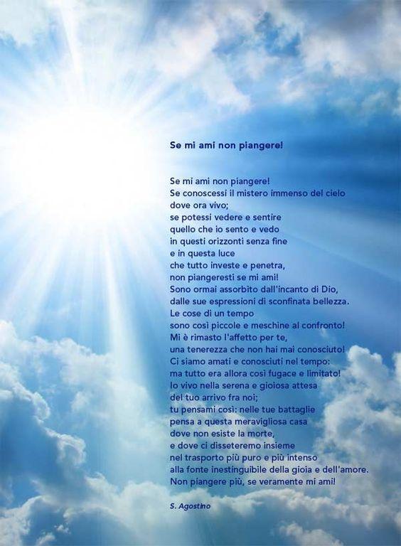 Preghiera Dei Defunti Di Santagostino
