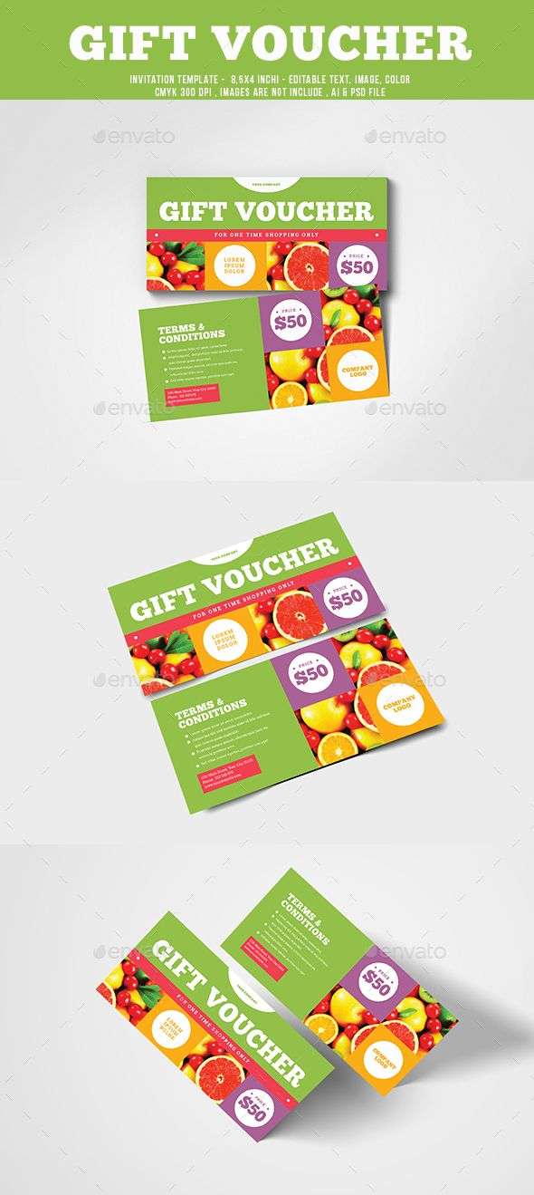 Gift Voucher  Template Gift And Font Logo