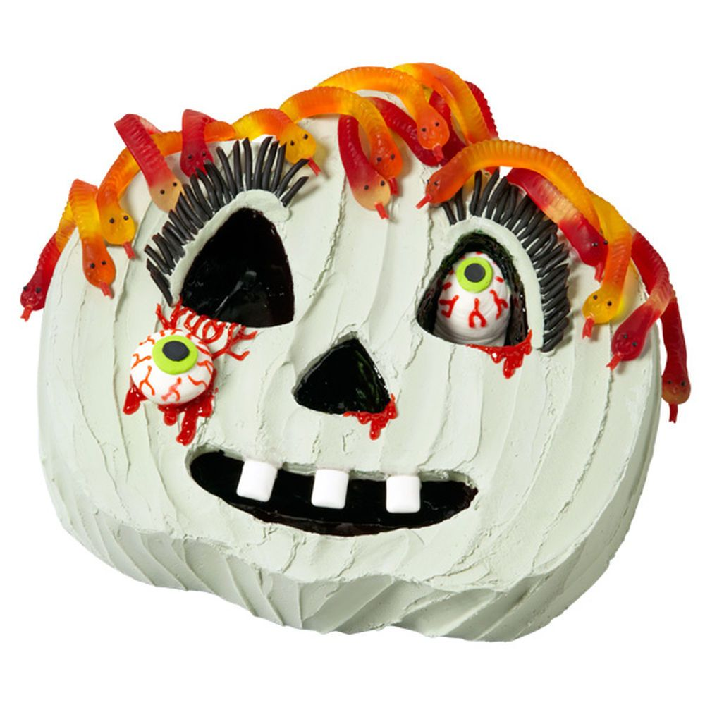 Decorate your own Medusa-like cake using the Wilton Jack-O ...