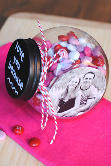 Valentine S Day Candy Jar Put This On My Wife S Dresser And Keep