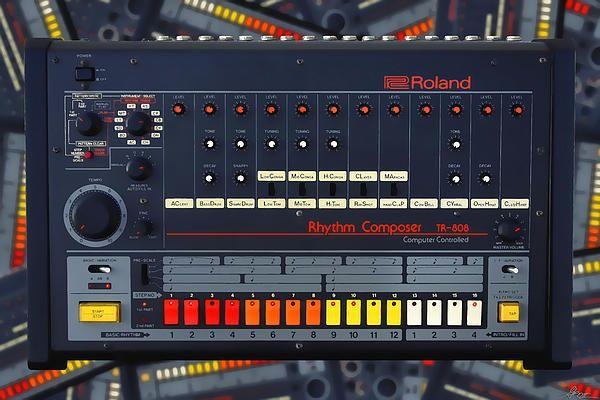 The Roland TR-808 Rhythm Composer Drum Machine