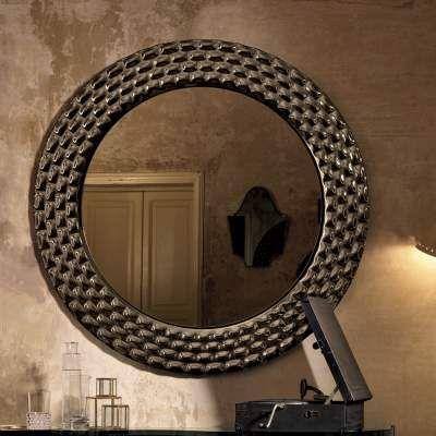 Specchio Tondo Da Parete.Pasha Specchio Tondo Da Muro Design Di Lusso Made In Italy