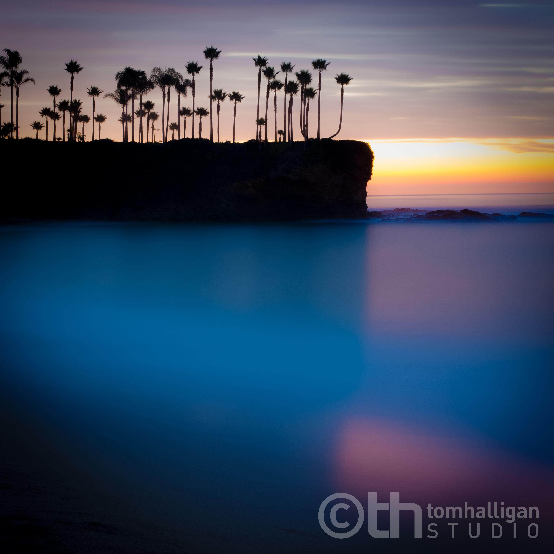 Crescent Bay Dawn, Laguna Beach, California.