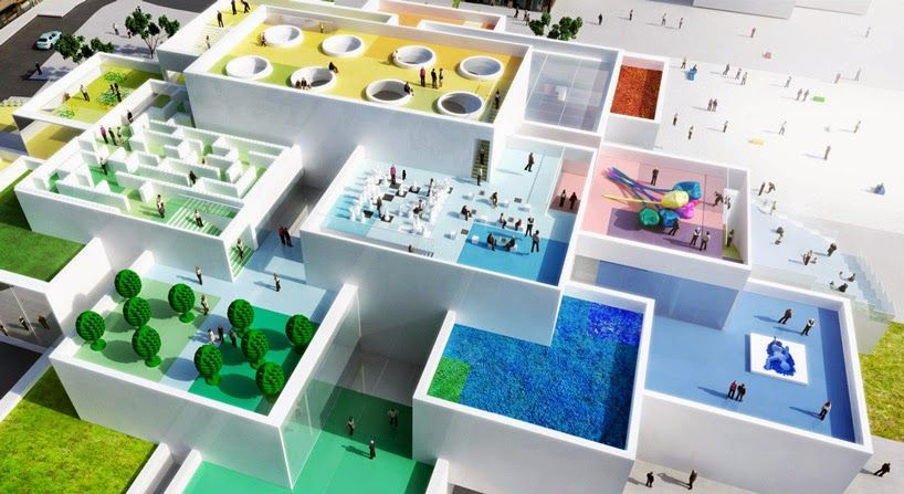 real lego house by bjarke ingels group architect a10 aedificio