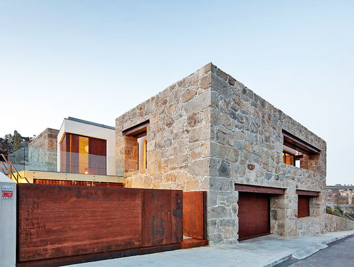 FCC Arquitectura Gives A Crumbling Stone Farmhouse Modern Facelift