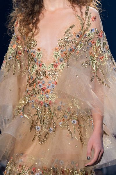 Marchesa at New York Fashion Week Spring 2017 - Details Runway Photos