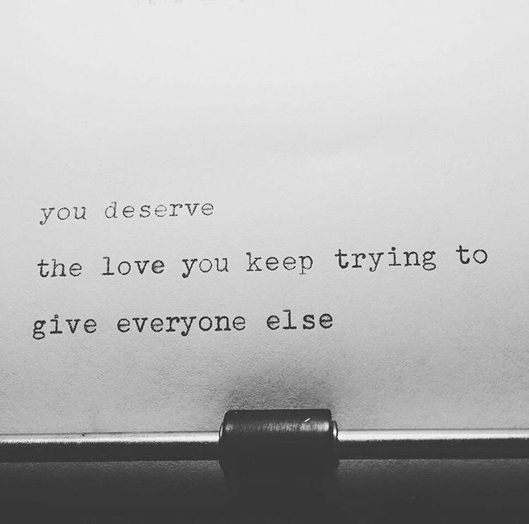 You deserve it.