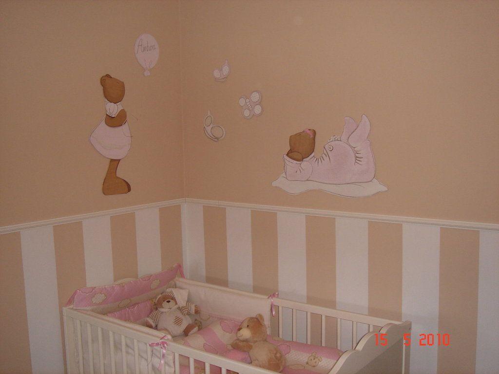 Pieza futuro bb bebe habitaciones for Decoracion paredes habitacion bebe nina