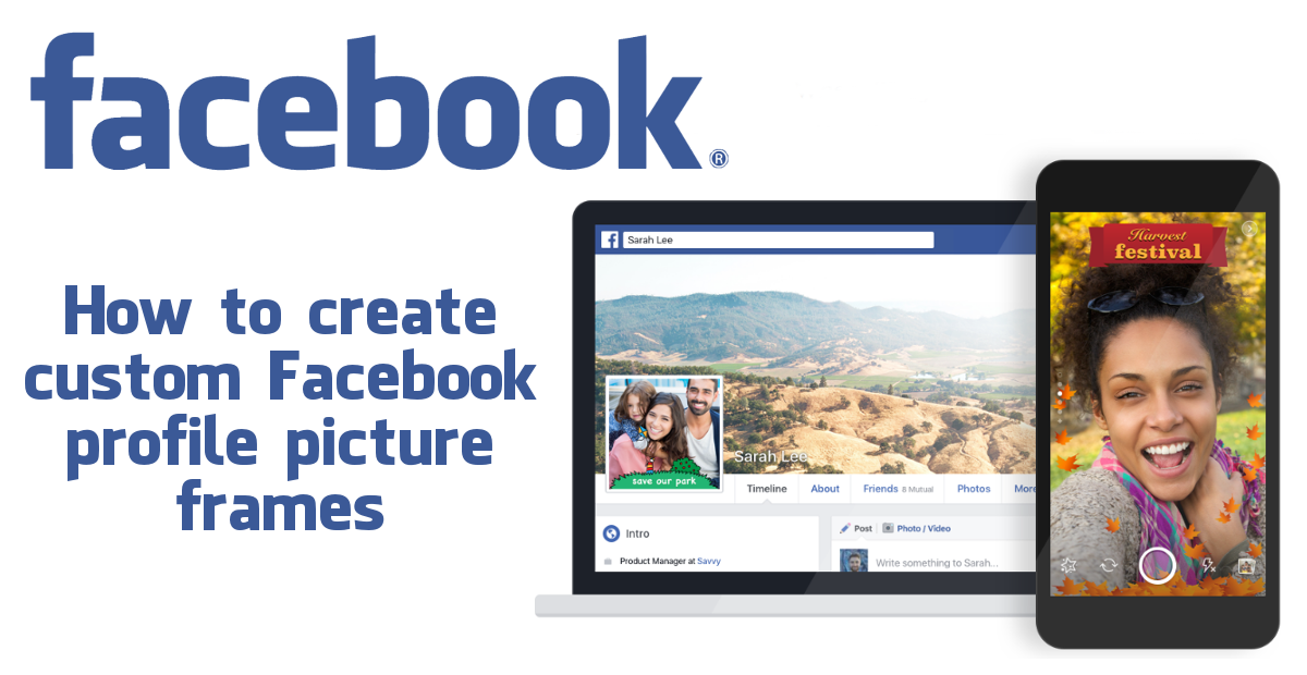 How to Create Custom Facebook Profile Picture Frames. (Updated 29/05 ...