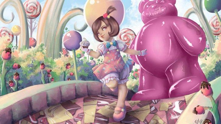 Candy Land Annie League Of Legends Skin Wallpaper Ayashiroi 1366768